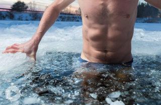 Récupération dans l'eau froide